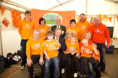 Taoiseach Enda Kenny at join our boys Stand at The National Ploughing Championships 2014.