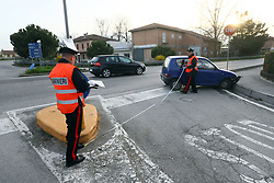 INCIDENTE MALORE VIA NAZIONALE PONTENTE AD ARGENTA