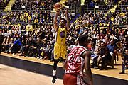 Garrett Diante Maurice<br /> FIAT Torino - EA7 Emporio Armani Milano<br /> Lega Basket Serie A 2017-2018<br /> Torino 10/12/2017<br /> Foto M.Matta/Ciamillo &amp; Castoria