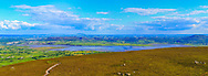 Ballysadare and Ballysadare Bay viewed from Knocknarea Cairn at 135mm offering stunning levels of detail