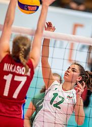 04-04-2017 NED:  CEV U18 Europees Kampioenschap vrouwen dag 3, Arnhem<br /> Rusland - Bulgarije 3-0 / Darina Kumanova #12