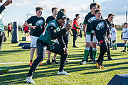 during the press, training and media day for Philadephia Eagles at London Irish Training Ground, Hazelwood Centre, United Kingdom on 26 October 2018. Picture by Jason Brown.