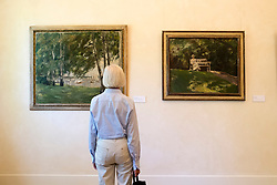Summer house of German artist Max Liebermann in Wannsee Berlin Germany