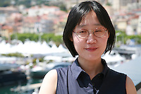 Director July Jung representing the film Dohee-ya, A Girl At My Door, at the 67th Cannes Film Festival, Tuesday 20th May 2014, Cannes, France.