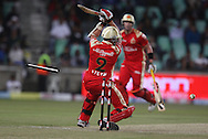 Dale Steyn  wicket goes down during match 11 of the Airtel CLT20 between The South Australian Redbacks and The Royal Challengers Bangalore held at Kingsmead Stadium in Durban on the 17 September 2010..Photo by: Steve Haag/SPORTZPICS/CLT20.