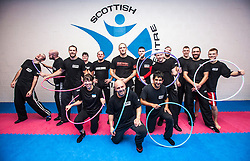 Stef Noij, KMG Instructor from the Institute Krav Maga Netherlands and the students from the IKMS G Level Programme at November's seminar today at the Scottish Martial Arts Centre, Alloa.