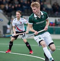 AMSTELVEEN - Jochem Bakker (Rdam) tijdens de hoofdklasse hockeywedstrijd Amsterdam-HC Rotterdam (7-1).    COPYRIGHT KOEN SUYK