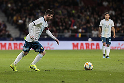 March 22, 2019 - Madrid, Spain - Argentina's Leo Messi during International Adidas Cup match between Argentina and Venezuela at Wanda Metropolitano Stadium. (Credit Image: © Legan P. Mace/SOPA Images via ZUMA Wire)
