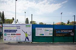 ATP Challenger Zavarovalnica Sava Slovenia Open 2018, on August 6, 2018 in Sports centre, Portoroz/Portorose, Slovenia. Photo by Urban Urbanc / Sportida