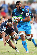 Jerome Kaino during a pre season Super Rugby match. Blues v Storm, Pakuranga Rugby Club, Auckland, New Zealand. Thursday 4 February 2016. Copyright Photo: Andrew Cornaga / www.Photosport.nz