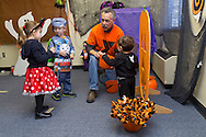 Middletown, New York  - Children enjoy the Halloween Fall Festival at the Middletown YMCA's Center for Youth Programs on Oct. 25, 2014.