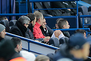 Mauro ICARDI (PSG) still feeling bad to his feet, in team stand, during the UEFA Champions League, Group A football match between Paris Saint-Germain and Club Brugge on November 6, 2019 at Parc des Princes stadium in Paris, France - Photo Stephane Allaman / ProSportsImages / DPPI