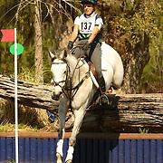 Ashley Dalton (USA) and Rockstar at the 2007 Red Hills Horse Trials in Tallahassee, Florida
