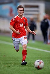 MERTHYR TYDFIL, WALES - Thursday, November 2, 2017: Wales' Charlie Davies during an Under-18 Academy Representative Friendly match between Wales and Newport County at Penydarren Park. (Pic by David Rawcliffe/Propaganda)