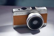 Photokina 2008, World's bigest bi-annual photo fair. Retro-style prototype Olympus Micro FourThirds camera.
