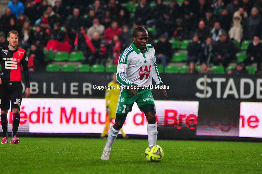 Landry Nguemo - 18.01.2015 - Rennes / Saint Etienne - 21eme journ&Atilde;&copy;e de Ligue 1 -<br />Photo : Philippe Le Brech / Icon Sport