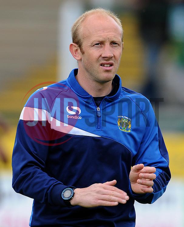 Yeovil Town coach Darren Way - Photo mandatory by-line: Harry Trump/JMP - Mobile: 07966 386802 - 25/04/15 - SPORT - FOOTBALL - Sky Bet League One - Yeovil Town v Port Vale - Huish Park, Yeovil, England.