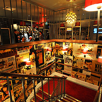01.12.2011.Image from the launch of the Everyman Cinema in Maida Vale, north London. .Picture credit should read:  Blake-Ezra Cole.