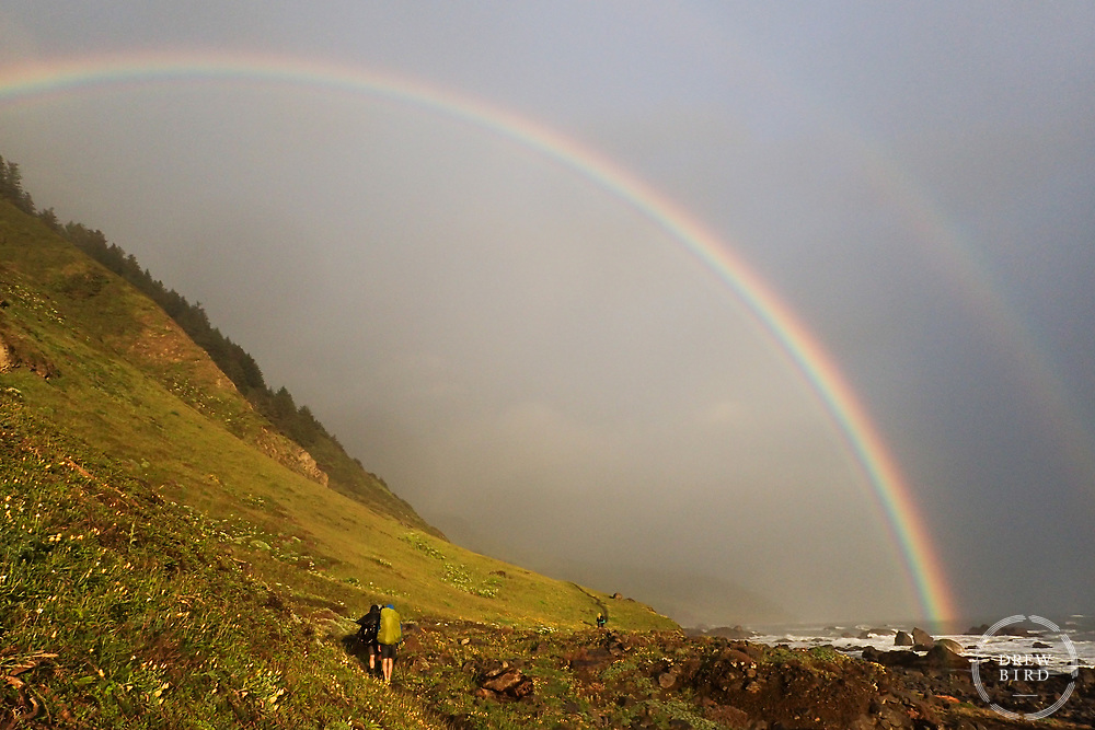 Lost Coast Trail | Double Rainbow<br /> Northern California <br /> <br /> Drew Bird Photography<br /> San Francisco Bay Area Photographer<br /> Have Camera. Will Travel. <br /> <br /> www.drewbirdphoto.com<br /> drew@drewbirdphoto.com