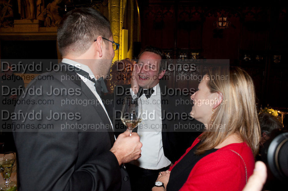 ED VAIZEY, Man Booker prize 2011. Guildhall. London. 18 October 2011. <br /> <br />  , -DO NOT ARCHIVE-© Copyright Photograph by Dafydd Jones. 248 Clapham Rd. London SW9 0PZ. Tel 0207 820 0771. www.dafjones.com.