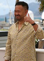 Actor Jiang Wu at the Tian Zhu Ding (A Touch Of Sin) film photocall at the Cannes Film Festival 17th May 2013