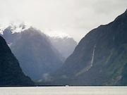 View of Mount Pembroke, Fiordland National Park, New Zealand