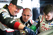 June 13-18, 2017. 24 hours of Le Mans. Toyota mechanics