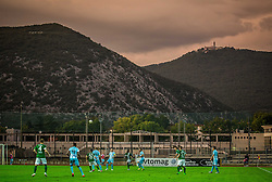 Stadium during football match between ND Gorica and NK Olimpija Ljubljana in Round #10 of Prva liga Telekom Slovenije 2015/16, on September 19, 2015, in Sports park Gorica, Nova Gorica, Slovenia. Photo by Vid Ponikvar / Sportida