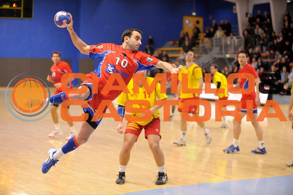 DESCRIZIONE : France Ligue Hand N1 2009/2010 Vernon 24/01/2010<br /> GIOCATORE : Claudel Nicolas<br /> SQUADRA : Vernon <br /> EVENTO : France Hand 2009/2010 N1<br /> GARA : Vernon Pau<br /> DATA : 23/01/2010<br /> CATEGORIA : France Hand 2009/2010 N1 Action<br /> SPORT : Handball<br /> AUTORE : JF Molliere par Agenzia Ciamillo-Castoria <br /> Galleria : France Hand N1 2009-2010 <br /> Fotonotizia : France Hand N1 2009/2010 Vernon 24/01/2010 <br /> Predefinita :