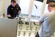 Cannabisbutiken The Agrestic säljer laglig marijuana för både medicinskt och rekreationsbruk. Corvallis, Oregon, USA