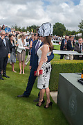 NAT PARKER; KELLY BROOK, Ladies Day, Glorious Goodwood. Goodwood. August 2, 2012