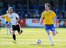 Bristol Rovers' Chris Lines  - Photo mandatory by-line: Neil Brookman/JMP - Mobile: 07966 386802 - 18/04/2015 - SPORT - Football - Dover - Crabble Athletic Ground - Dover Athletic v Bristol Rovers - Vanarama Football Conference