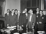 Powers Whiskey Reception for U.K.B.G. Groups 10-12-1958 United Kingdom Bartenders Guild