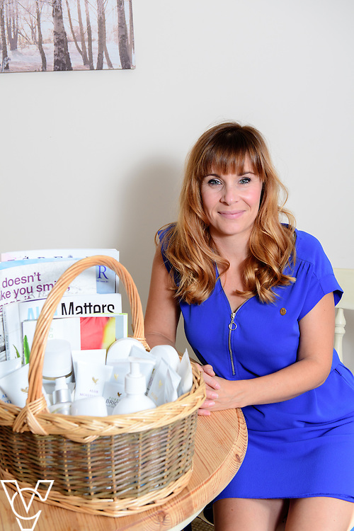 Lincoln Journal: Vicki Gregory, who owns MPV Natural Living, is a team leader for Forever Living, a health and wellness company.<br /> <br /> Picture: Chris Vaughan/Chris Vaughan Photography<br /> Date: September 13, 2016
