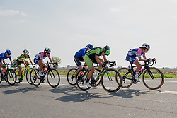 Rachele Barbieri in the chase at Giro dell'Emilia 2017 - a 98 km road race, in Bologna, Italy on September 30, 2017. (Photo by Sean Robinson/Velofocus.com)