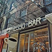 City Girl Cafe, Thompson St, SoHo