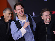 CHANNING TATUM + TIM ROTH and Tarantino hands & foot prints ceremony held @ the TCL Chinese theatre.<br /> ©Exclusivepix Media