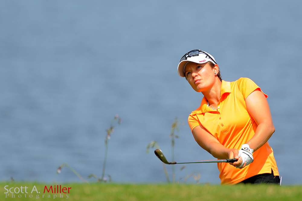Ulrika Van-Niekerk in action during the final round of the Daytona Beach Invitational  at LPGA International on Sep 29, 2012 in Daytona Beach, Florida...©2012 Scott A. Miller