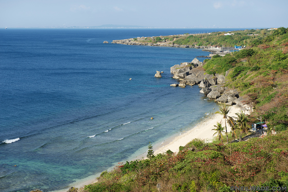 Geban Bay on Little Liuqiu, Taiwan.  This beach is probably the nicest of the 3 or 4 small ones on the island.