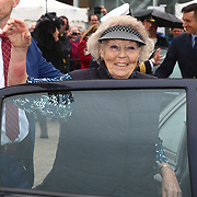 NLD/Lelystad/20180614 - Prinses Beatrix aanwezig bij de viering 100 jaar Zuiderzeewet in Biddinghuizen en Lelystad, Prinses Beatrix