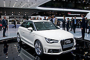 02.MARCH.2010. GENEVA<br /> <br /> AUDI A1 AT THE 80TH GENEVA INTERNATIONAL MOTOR SHOW IN GENEVA, SWITZERLAND.<br /> <br /> BYLINE: EDBIMAGEARCHIVE.COM<br /> <br /> *THIS IMAGE IS STRICTLY FOR UK NEWSPAPERS AND MAGAZINES ONLY*<br /> *FOR WORLD WIDE SALES AND WEB USE PLEASE CONTACT EDBIMAGEARCHIVE - 0208 954 5968*