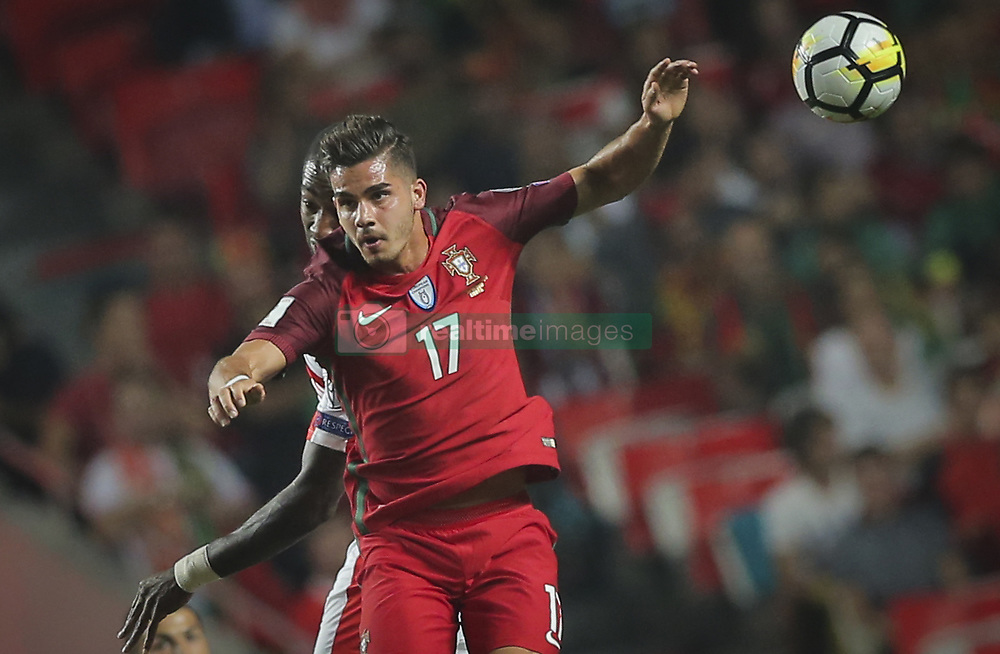 October 10, 2017 - Na - Lisbon, 10/10/2017 - The Portuguese football team received their Swiss counterpart tonight in the last game of the group stage to qualify for the 2018 FIFA World Cup in Russia , next June. André Siva  (Credit Image: © Atlantico Press via ZUMA Wire)