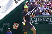 CAPTION CORRECTION Lukas Lacko (SVK) Beats Mscha Zverev (GER) the Nature Valley International at Devonshire Park, Eastbourne, United Kingdom on 30th June 2018. Picture by Jonathan Dunville.