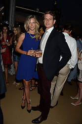 The Johnnie Walker Blue Label and David Gandy Drinks Reception aboard John Walker & Sons Voyager, St.Georges Stairs Tier, Butler's Wharf Pier, London, UK on 16th July 2013.<br /> Picture Shows:-Olivia Hunt, Nick Wilkinson