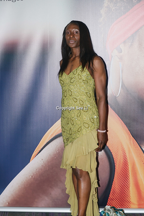London,England,UK. 11th May 2017. Michelle Thomas is a athlete attends the Women's Sport Trust Awards - #BeAGameChanger at The Troxy,london, UK. by See Li
