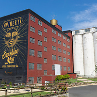 Sunshine Mill winery and restaurant in The Dalles, Oregon