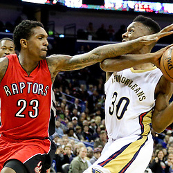 02-23-2015 Toronto Raptors at New Orleans Pelicans