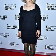 Madge attend TriForce Short Festival, on 30 November 2019, at BFI Southbank, London, UK.