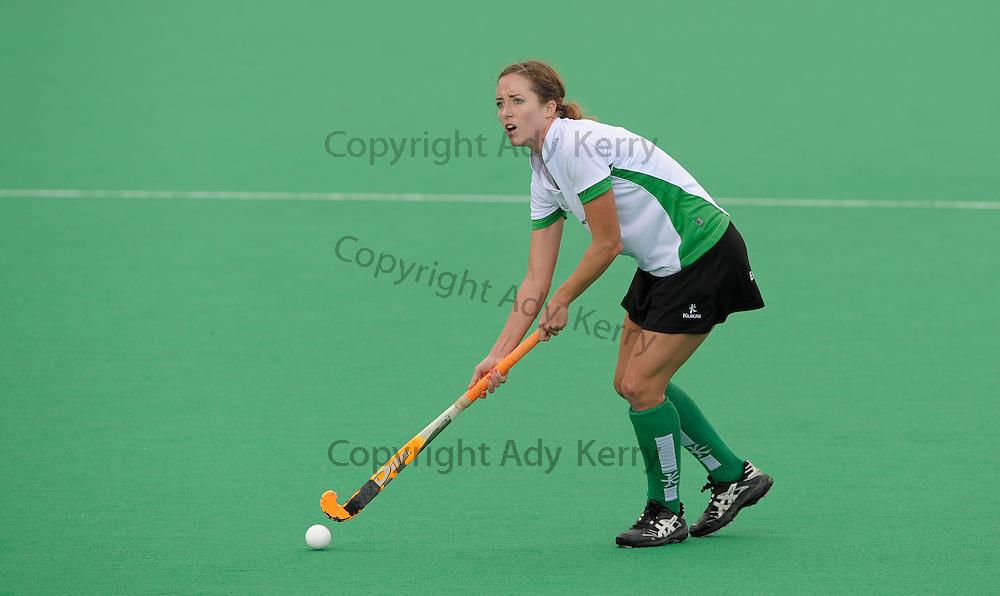 Canterbury's Katie Evans during their Premier League game at Polo Farm, Canterbury, Kent, 23rd October 2010..