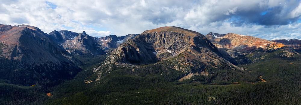 Gore Range, Forest Canyon, Rocky Mountain National Park, Colorado